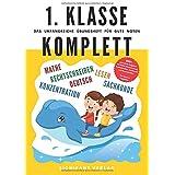 1. Klasse Komplett - Das umfangreiche Übungsheft für gute Noten: 800+ spannende Aufgaben für Mathe, Deutsch, Lesen, Rechtschr