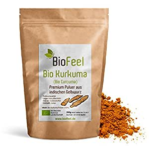 BioFeel - Bio Kurkuma Pulver, 200g