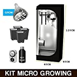 immagine prodotto Kit Mini GrowBox + LED Grow Pianta Madre 40x40x120