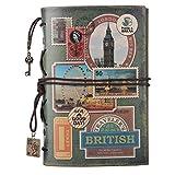 Maleden Tagebuch mit Paris-Motiv