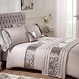 Sienna Pailletten Bett in Einer Tasche, Mink, 100% Polyester, Weiche Microfaser, natürlichem Golden Mink, Double