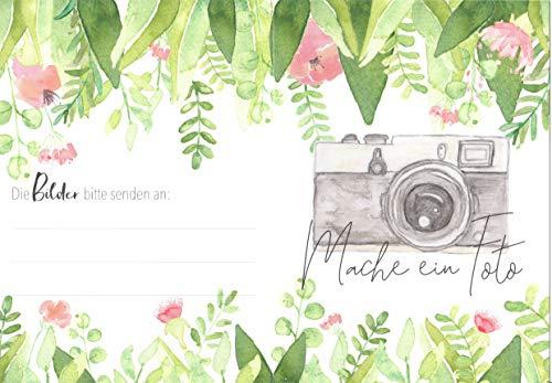 Hochzeitsspiel | Fotoaufgaben 25 Stück
