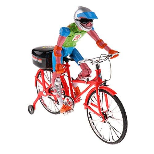 MagiDeal Juguete de Música Figura de Bicicleta Eléctrica para Niños