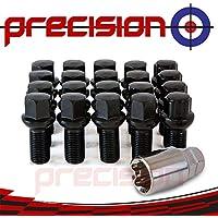 Butzi Anti Theft Car Locking Wheel Tyre Alloy Nuts Bolt Keys Fits Toyota Auris//Avensis//Corolla Verso//Camry//GT 86//Highlander//IQ//Hilux//Landcruiser//Previa//Prius//Verso//Yaris//Rav4 12x1.50