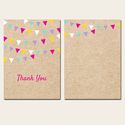thank-you-cards-vintage-party-bunting-pack-of-10