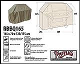 Raffles Covers RBBQ165 BBQ Schutzhaube Grill Schutzhülle,Abdeckplane,Grillabdeckung Wetterschutzhülle für Grill, Abdeckplane BBQ