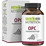 Premium OPC Traubenkernextrakt Kapseln - 600 mg Traubenkernextrakt pro Kapsel - Laborgeprüfte Premium Qualität - vegan - 3 Monate Vorrat