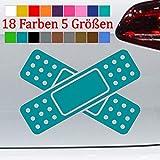 Generic Pflaster Aufkleber Auto Delle Beule Unfall Kratzer Sticker VW 18 Farben 5 Größen