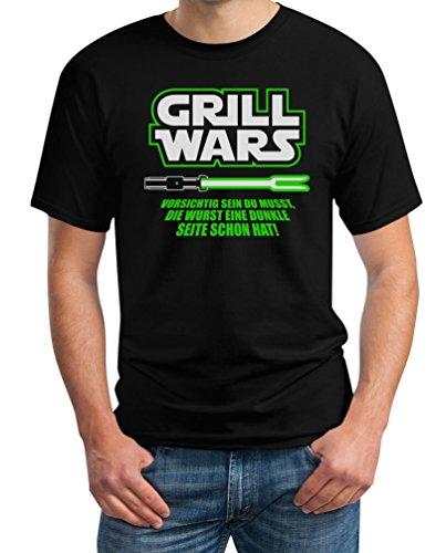 Geschenk für überirdische Grill Wars T-Shirt XXXX-Large - Wars Grill Tshirt