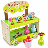 Best Flower Shears - Wooden Wonders Flourishing Flower Shop Playset with Vases Review