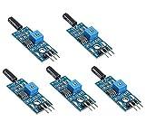 WINGONEER 5PCS module de capteur de haute sensibilité sensorielle SW-18010P module de capteur d'alarme...