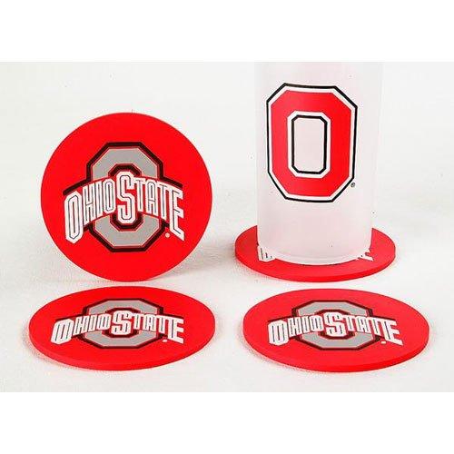 Duck House NCAA Ohio State Buckeyes Untersetzer, 4Stück