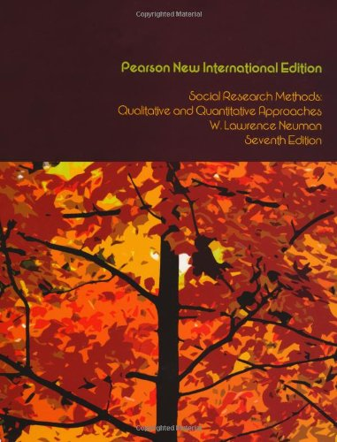 Social Research Methods: Pearson New International Edition: Qualitative and Quantitative Approaches