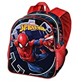Karactermania Spiderman Hero-Nursery Backpack Sac à Dos Enfants, 30 cm, 7 liters, Bleu (Blue)