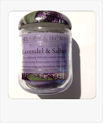Kleine Duftkerze Lavendel & Salbei - Cottage Garden Lavendel-salbei