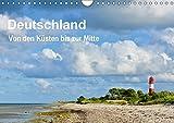 Deutschland - Von den Küsten bis zur Mitte (Wandkalender 2017 DIN A4 quer): In ausdrucksstarken und farbenfrohen Fotografien zeigt sich Deutschland ... (Monatskalender, 14 Seiten ) (CALVENDO Natur)