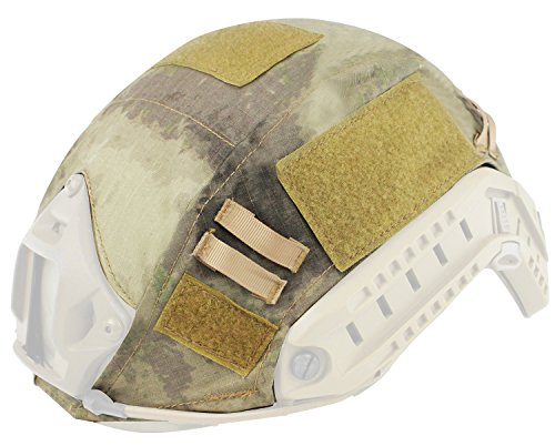 Oarea WoSporT Fast Helmabdeckung Airsoft Tactical Military Camo - Helm Airsoft Camo