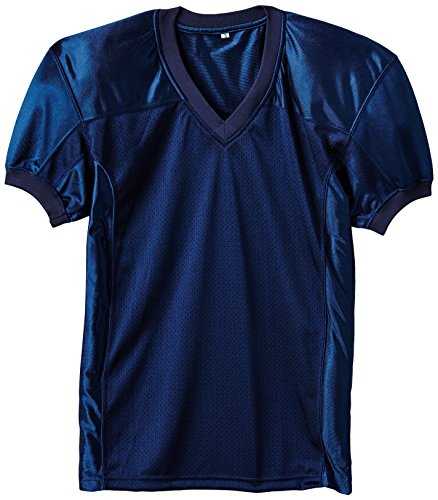 Full Force Herren Trikot Profi Football Shirt Gamejersey NY, blau, 4XL, FF0208110317