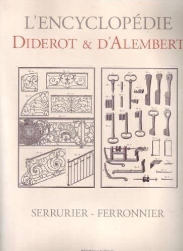 Serrurier-ferronnier par Denis Diderot, Jean d' Alembert