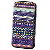 Xtra-Funky Exclusive Aztec Tribal Mexican Patterned Plastic Hard Case Cover Shell For Apple iPhone 3G & 3GS (APPLE iPHONE 3G - 3GS, A2 DESIGN)