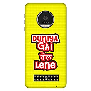 Mobo Monkey Designer Printed Back Case Cover for Moto Z Play (Humor :: Student :: Quirky :: Attitude :: Typography)