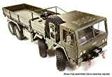 Integy RC Hobby C26416GUN Billet Machined 8X8 10T GL High-Mobility Off-Road Truck 1/10 Size ARTR