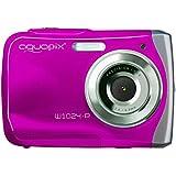 Easypix W1024 Splash Digitalkamera (10 Megapixel, 4-fach digitaler Zoom, 6,1 cm (2,4 Zoll) Display) pink