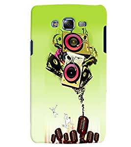 Citydreamz Musical Notes/Abstract/Music/Sound System Hard Polycarbonate Designer Back Case Cover For Samsung Galaxy Grand Prime G530H/G531H