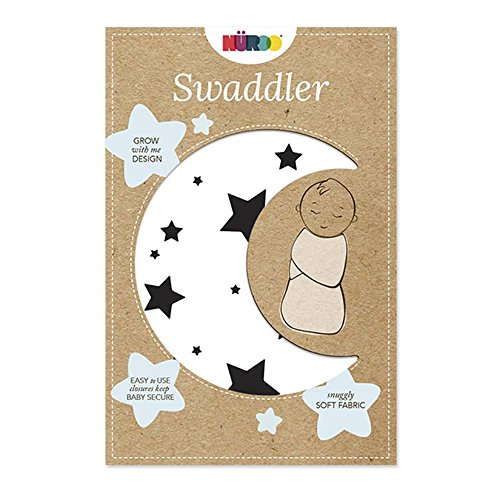 Nuroo The Swaddler One Size For All Babies From Preemie to 9 Months