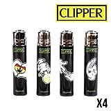 Die besten Verkaufs Clippers - Clipper Cartoon Hands x4 – Clipper Feuerzeuge Bewertungen