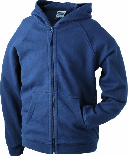 James & Nicholson Jungen Sweatshirt Blau (Navy)