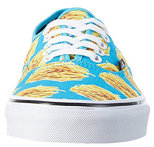Vans Authentic, Sneaker Unisex – Adulto Turchese/Giallo