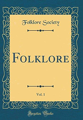 Folklore, Vol. 1 (Classic Reprint)
