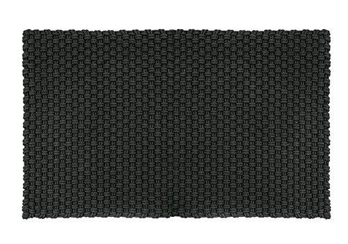 pad - Fußmatte - Fußabtreter - Uni - Indoor/Outdoor - schwarz - 52 x 72 cm