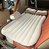 Vinteky 140 * 90 * 45cm Auto Aufblasbare Bett Komfortables Reise Bett Schlafmatte Outdoor Luftbett (Beige)