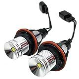 nikauto 2 3 W 12 V LED Scheinwerfer Angel Eyes Ring Maker Leuchtmittel für E39 E59 E53 E60 E63 E64 E65 E66 E83 E87