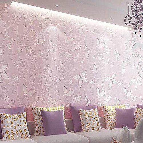 non-tisse-papier-peint-romantique-rose-papier-peint-toile-de-fond