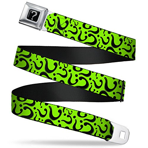 Buckle Down Seatbelt Riddler Kids Belt