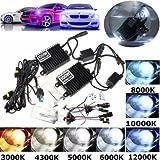 100W HID KIT AC Ballast H1 Xenon Bulbs L...