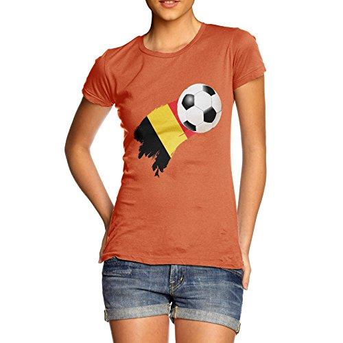 TWISTED ENVY  Damen T-Shirt Orange