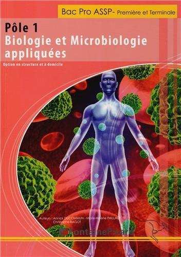 Pôle 1 Biologie et Microbiologie appliquées 1e et Tle Bac Pro ASSP : Options en structure et à domicile