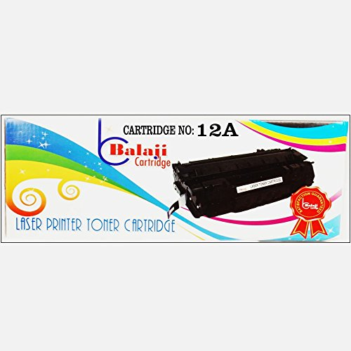 BC 12A Black Toner Cartridge Q2612A (Compatible for HP LaserJet - 1010, 1012, 1015, 1018, 1020, 1022, 1022n, 3020, 3030, 3050, 3052, 3055, M1005, M1319f )  available at amazon for Rs.605