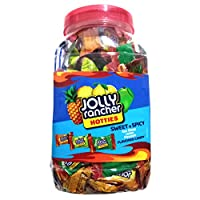 Jolly Rancher Hotties Sweet Spicy Flavored Candy Jar