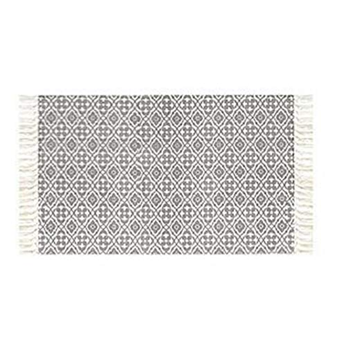 HIUGHJ TeppichVintage persischen Stil gewebt Matte Badezimmer Wohnzimmer Teppich geometrische handgemachte indische Wolldecke gestreift modernen Druck Mat Bohemia
