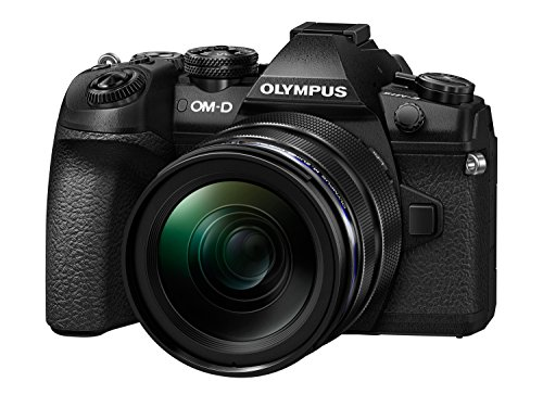 For Sale Olympus OM-D E-M1 Mark II Compact System Camera with 12 – 40 mm Lens Kit – Black Special