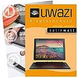 uwazi I 3X Satin-Matte Schutzfolie für Lenovo Miix 720 Displayschutzfolie I Folie I Anti Fingerabdruck I Anti Kratzer