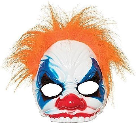 Men's Horror Halloween Fancy Dress Accessory Clown Half Face Mask