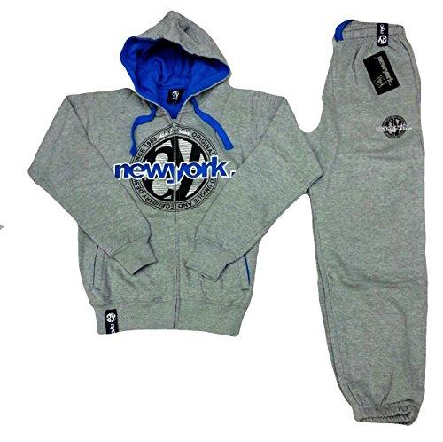 New York Yankees -  Pantaloni  - Uomo Grey Medium
