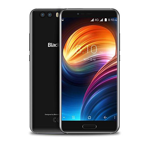 """Blackview P6000-5,5"""" 4G Smartphone, Android 7.1 Octa Core 6GB+64GB, Fotocamera 21MP+0.3MP+8MP, Riconoscimento del Viso, Impronte Digitali, 6180mAh Ricarica Rapida, 2-SIM Telefono Cellulari Sbloccato"""
