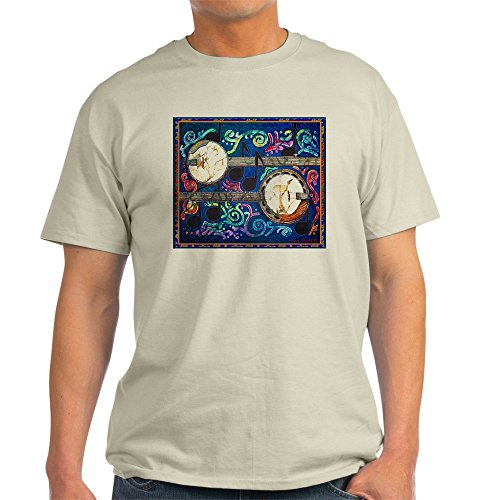 CafePress Banjo–T-Shirt Aus 100% Baumwolle Gr. Medium, Natur